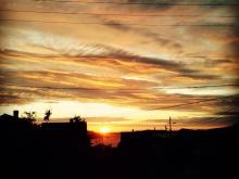 Solnedgang i Solsvik