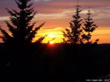 Solnedgang i Sund