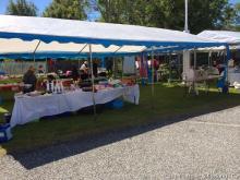 Marknad på Glesvær