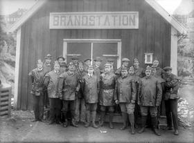 Knarrevik brandkorps 1921