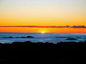 Solnedgang i Telavåg