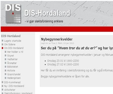DIS-Hordaland