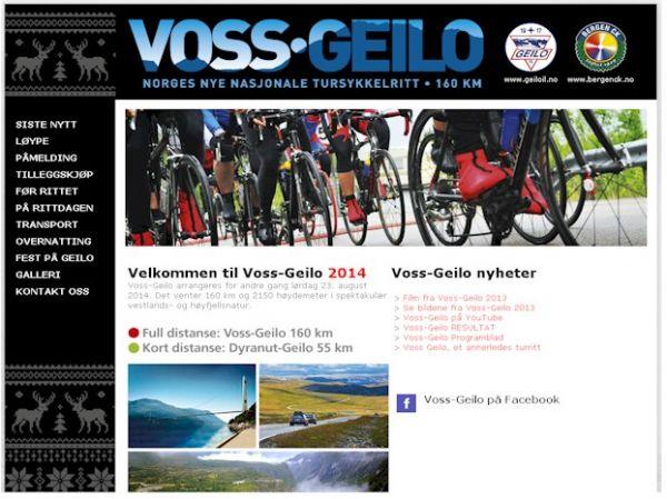 Voss Geilo - Sykkelritt