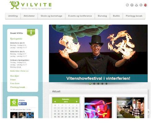 VilVite, Bergen Vitensenter