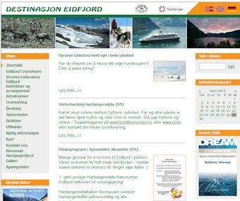 Destinasjon Eidfjord