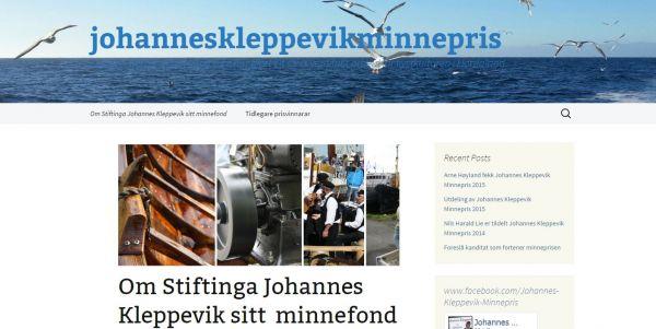 Johannes Kleppevik Minnepris