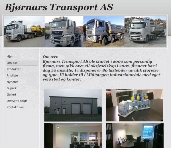 Bjørnars Transport AS