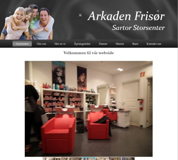 Arkaden Frisør AS