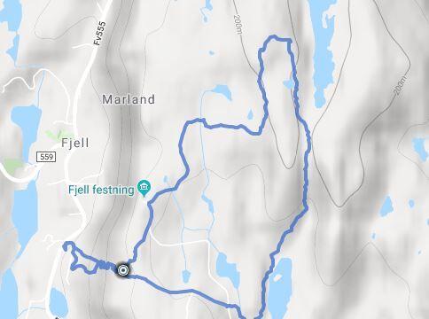 Russarstegen-Vardefjellet-Gyravatnet-rundtur