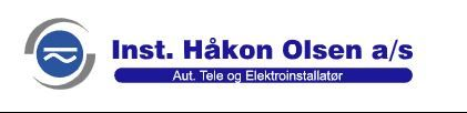 Olsen Håkon Installatør AS