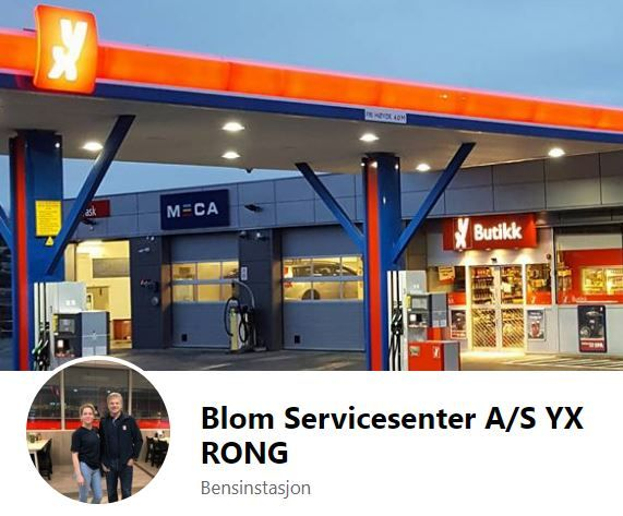 Blom Servicesenter A/S YX RONG